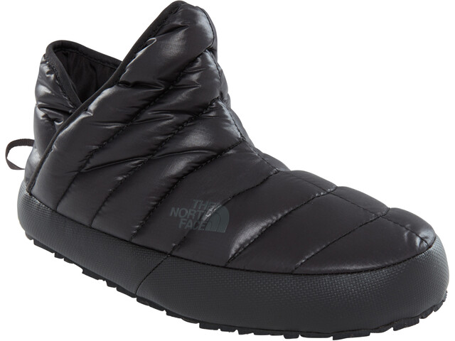The North Face ThermoBall Traction Booties Women shiny tnf black/beluga grey